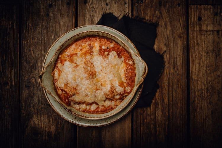 Pasta Cannelloni Salmone Pizzeria Freudenstadt