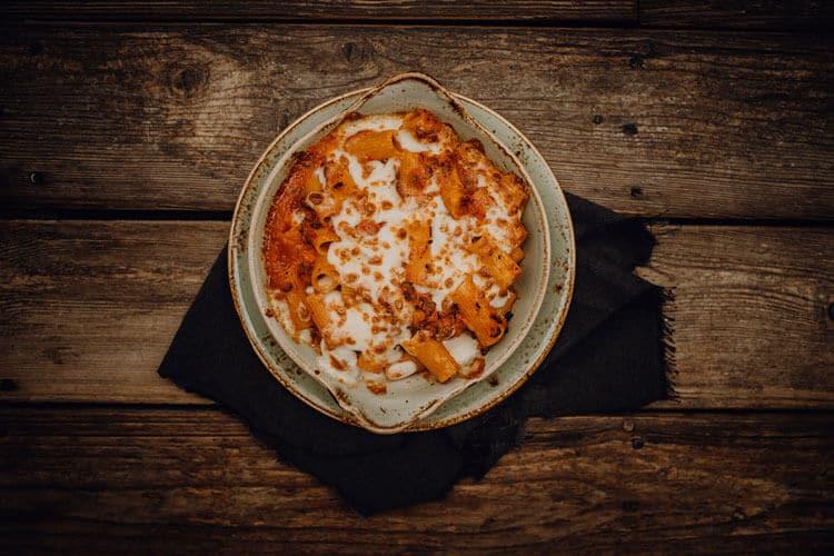 Pasta Rigatoni al Forno Pizzeria Freudenstadt