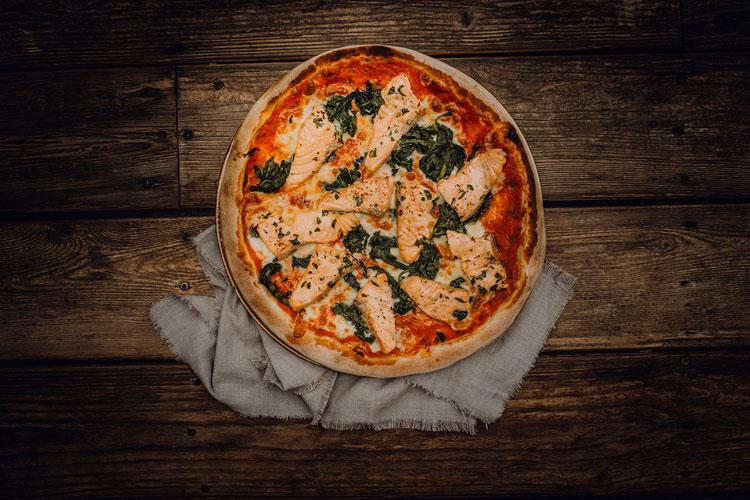 Pizza al Salmone - Pizzeria Freudenstadt