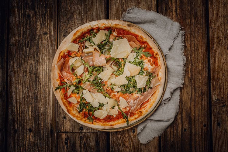 Pizza Rucola Parmaschinken Pizzeria Freudenstadt