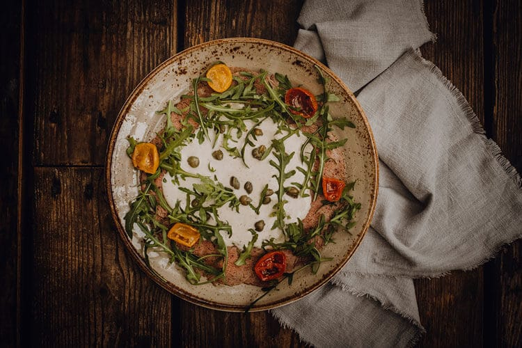 Vorspeisen Vitello Tonnato - Pizzeria Freudenstadt